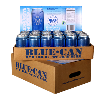 Standard Blue Can Case Pack